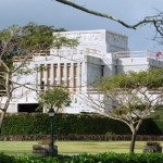 Laie Hawaii Temple…undergoing renovations