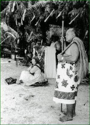 Margaret Mead in Manu'a, 1971