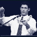 Steve Young addresses EFY group