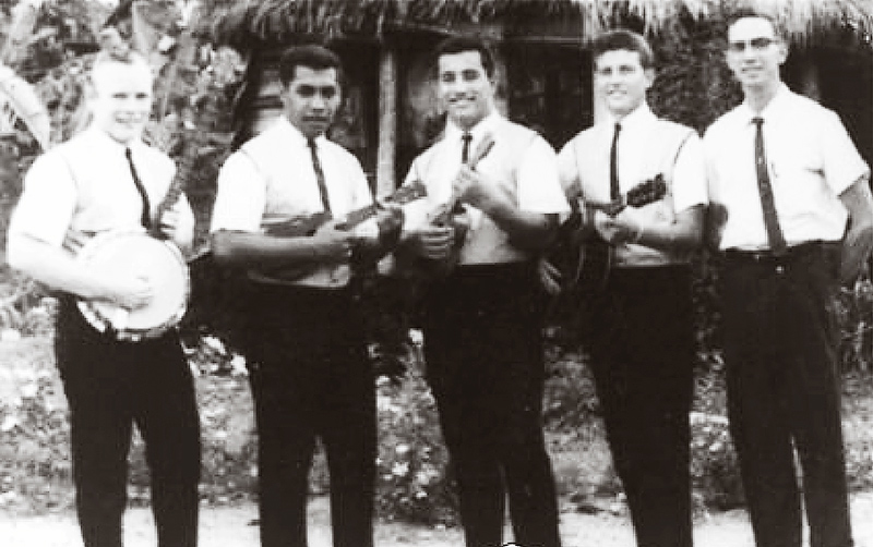 The Eldares, Mormon missionaries in Samoa in 1963