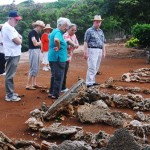 MPHS tours small, old cemeteries in Laie